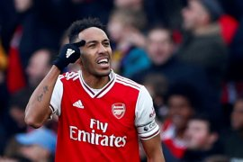 Aubameyang akan berusaha keras antarkan Arsenal ke puncak