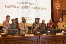 Sri Mulyani menyebut defisit APBN 2019 Rp353 triliun