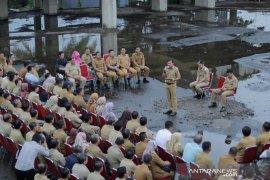 """Alasan """"briefing staff"""" di lokasi proyek mangkrak, ini penjelasan Wali Kota Bogor"""
