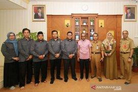 Bupati terima audiensi Bawaslu Banjar