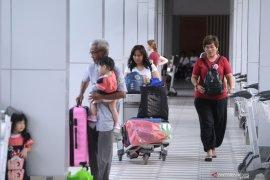 """Tahun Baru, """"extra flight"""" Bandara Ngurah Rai capai 67 persen"""