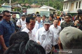 Korban banjir bandang di Sukajaya-Bogor dikunjungi Presiden