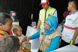Warga terdampak banjir Tangerang terkena ISPA, diare dan gatal