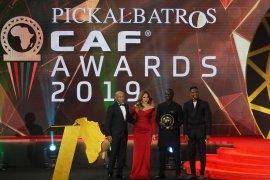 Sadio Mane terima penghargaan Pemain Terbaik Afrika 2019