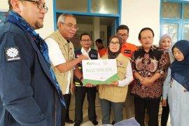BPJAMSOSTEK Hadir Bantu Korban Banjir Lebak