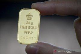 Harga emas naik