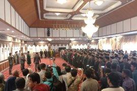 Dilantik jadi Penjabat Sekda, Sudirman kemudian lantik ratusan pejabat