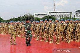 Kasum TNI sambut 1.289 Satgas Konga yang baru kembali dari Lebanon
