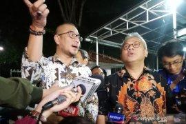 Empat komisioner KPU datangi KPK untuk konfirmasi OTT KPK