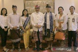 Wagub minta duta putra-putri wisata dari Bali tunjukkan prestasi terbaik