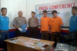 Polres Rejang Lebong tangkap dua pengedar narkoba
