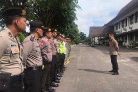 Polres Bangka terjukan 70 polisi amankan kunjungan kerja DPD RI