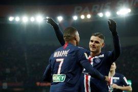 Piala Liga, PSG pesta enam gol, dampingi Lyon dan Lille ke semifinal