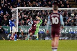 Leicester ditahan seri Aston Villa pada leg pertama semifinal Carabao