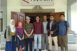 Awak media EraMadani.com kunjungi ANTARA Bali