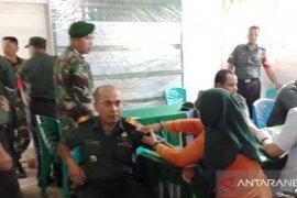 Kesehatan personel Koramil 18/Pargarutan diperiksa