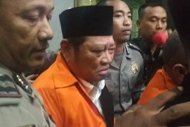Bupati Sidoarjo ditahan di Rutan KPK dalam kasus suap
