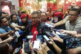 Sekjen PDI Perjuangan Hasto Kristiyanto bantah KPK segel ruang kerjanya