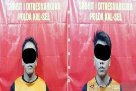 Ditresnarkoba Polda Kalsel ringkus dua pengedar sabu-sabu
