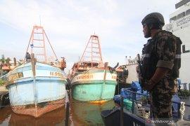 Dirjen KKP tangkap tiga kapal ikan asing di Laut Natuna Utara