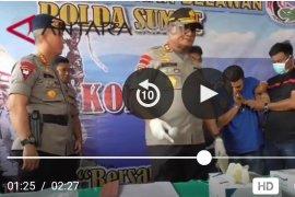 Narkoba baru jenis bubuk masuk ke wilayah Sumatera Utara (video)
