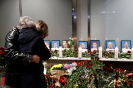 PM Ukraina sebut negara dan maskapai beri santunan korban pesawat