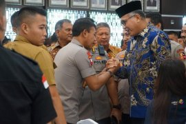 Gubernur Aceh hadiri penandatanganan pernyataan bersama awasi BBM