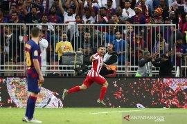 Atletico singkirkan Barcelona 3-2 dalam semifinal Piala Super sarat drama