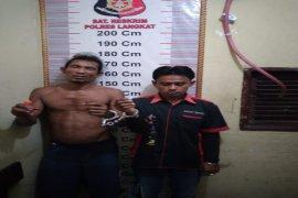 """Lagi asyik """"pesta"""" sabu-sabu, dua warga ditangkap Polisi Hinai Langkat"""