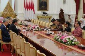 Presiden Jokowi terima Menlu Jepang