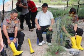 Kapolda Bangka Belitung dukung rencana penertiban pemukiman di hutan lindung