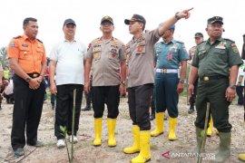 Polres Bangka tanam 3.750 pohon peduli penghijauan