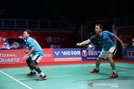 Bulu tangkis - Ahsan/Hendra gagal rebut tiket final Malaysia Masters dari Li/Liu