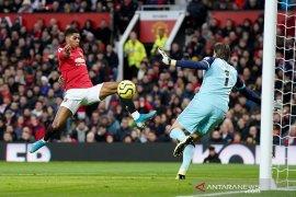 Liga Inggris, Rashford kemas dwigol warnai pesta Manchester United ke gawang Norwich