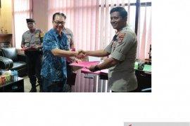 Polres Belitung jalin kerja sama pengawalan dan pengamanan bank