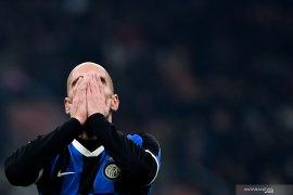 Inter tergelincir di kandang pada Liga Italia