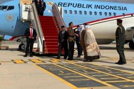 Presiden Jokowi disambut Menteri Energi Uni Emirat Arab