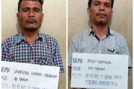 Dua warga Angkola Barat ditangkap Sat Resnarkoba Polres Tapsel