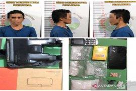 """Simpan 139,15 gram sabu, pemuda  di """"Kampung Narkoba"""" diringkus"""
