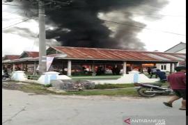 Sembilan unit rumah terbakar di Onansabtu Pangaribuan
