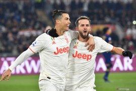 Juve menjadi juara musim dingin setelah kalahkan Roma