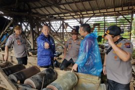 Polda Banten gelar operasi gabungan tertibkan penambangan liar di Lebak
