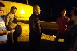 Polisi Stabat gerak cepat tangani kasus pembakaran excavator pekerjaan Jembatan Sei Wampu