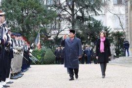 Prabowo kunjungi Perancis perkuat kerja sama pertahanan dan alutsista