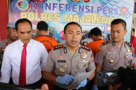 Polres Majalengka tangkap empat pelaku kasus narkoba