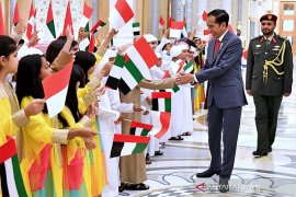 Tiru Indonesia, UEA libatkan anak-anak sambut kedatangan Jokowi