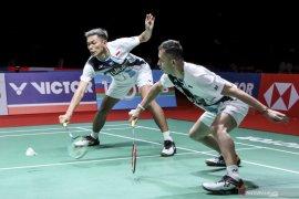Fajar/Rian rebut tiket babak dua Indonesia Masters