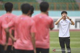 Shin Tae-yong terapkan teknologi bagi latihan timnas U-19
