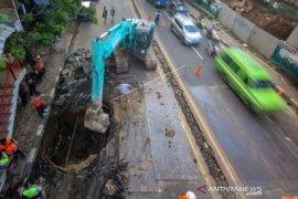 Jalan Daan Mogot ambles disebabkan faktor lokal