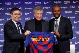 Quique Setien jadi pelatih baru Barcelona